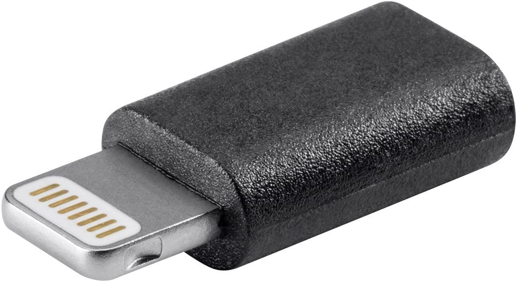 Monoprice Lightning Cable for Apple iPhone, iPad, iPod - Black (112950)