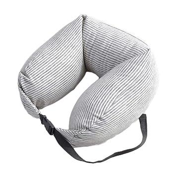 Amazon.com: Almohadas de viaje NEherLmksdf de algodón en ...
