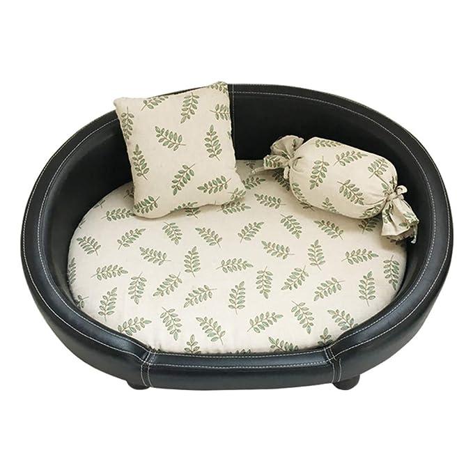 Cama Para Mascotas Percha Para Perros De Madera Maciza Cama Para Perros Desmontable Y Lavable Alfombra Para Mascotas Para Gatos Objetos Para Perros Grandes ...