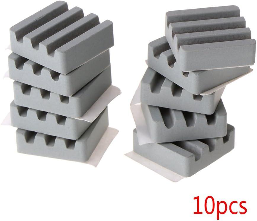 BIlinli 10 PCS Ceramic Heat Sinks CPU Cooling dissipador for Raspberry Pi 3 2B Orange Pi