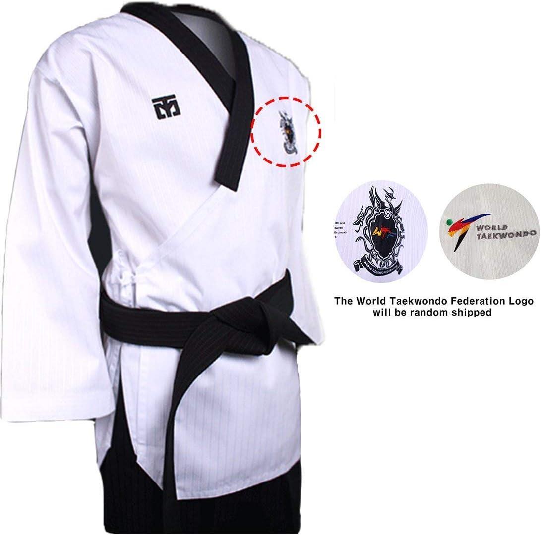 Mooto Pantalons de dobok Homme Pantalons Uniformes de Taekwondo poomsae