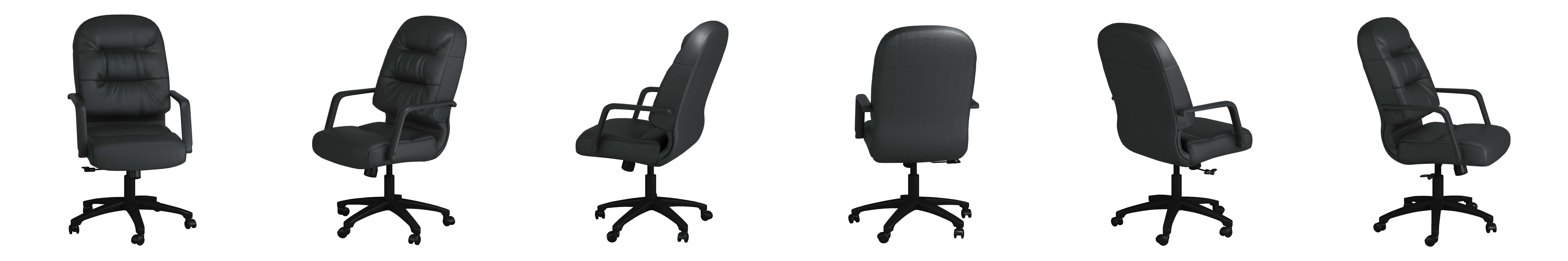 hon pillow soft chair. Amazon.com: HON Leather Executive Chair - Pillow-Soft Series High-Back Office Chair, Black (H2091): Kitchen \u0026 Dining Hon Pillow Soft