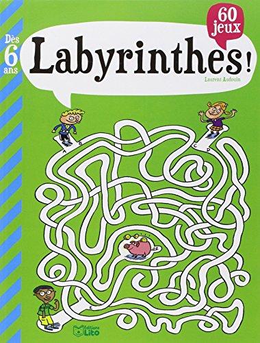 mon grand livre de jeux : labyrinthes