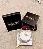 Mevecco Women layered Heart Necklace Pendant