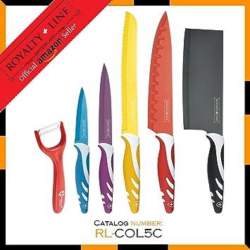 Compra Royalty Line RL-COL5C 5 piezas Juego de cuchillos + ...
