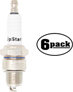 "6-Pack Compatible with Spark Plug for 1960-1961 Berkeley B95 L2 0.7L; 1/2"" Reach - Compatible with Champion RL82C & NGK BR7HS Spark Plugs"