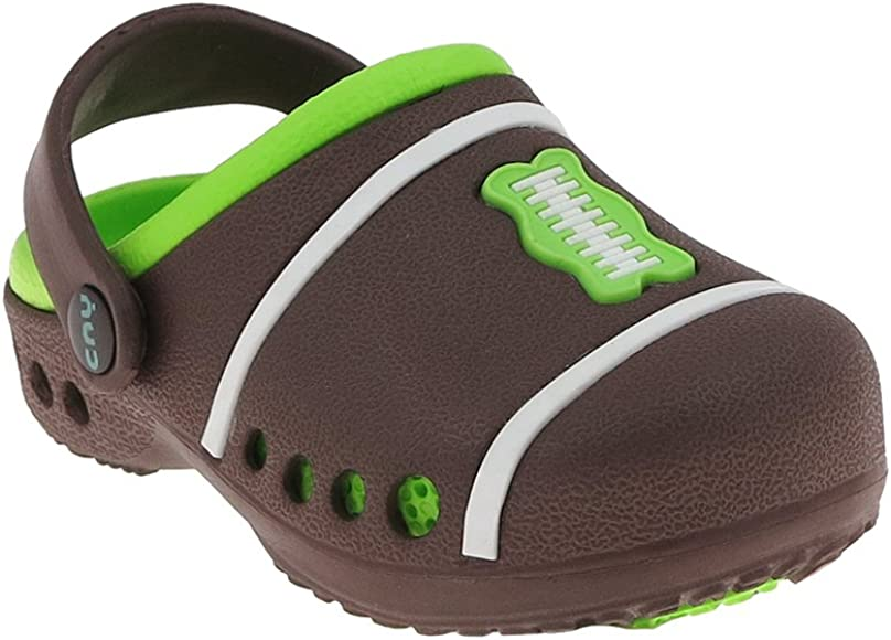 Capelli New York Boys Two Tone Clogs with Backstrap