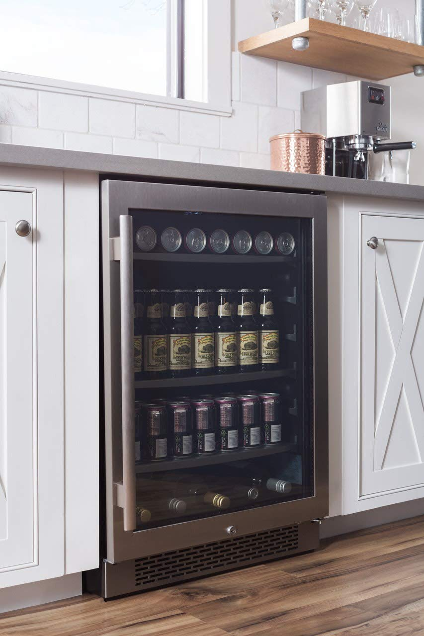Avallon 152 Can 24″ Built-In Beverage Cooler – Right Hinge