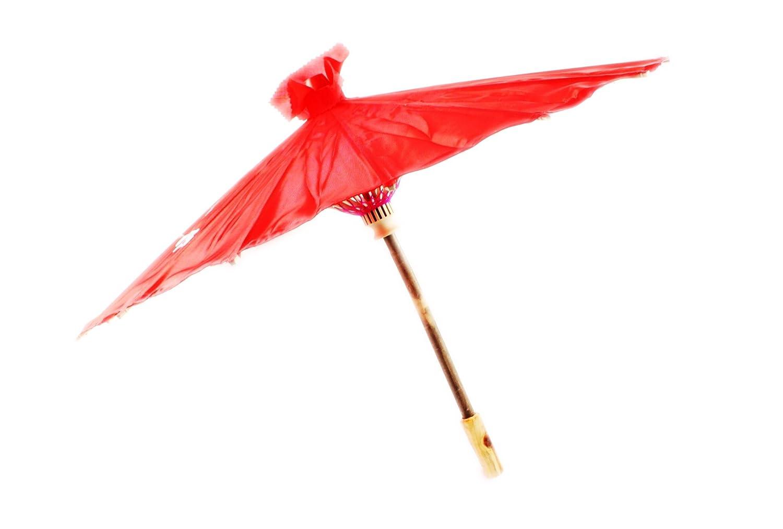 Chinese/Japanese Floral Parasol Geisha Umbrella - 80cm diameter