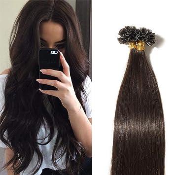 Extension de cheveux naturel a la keratine