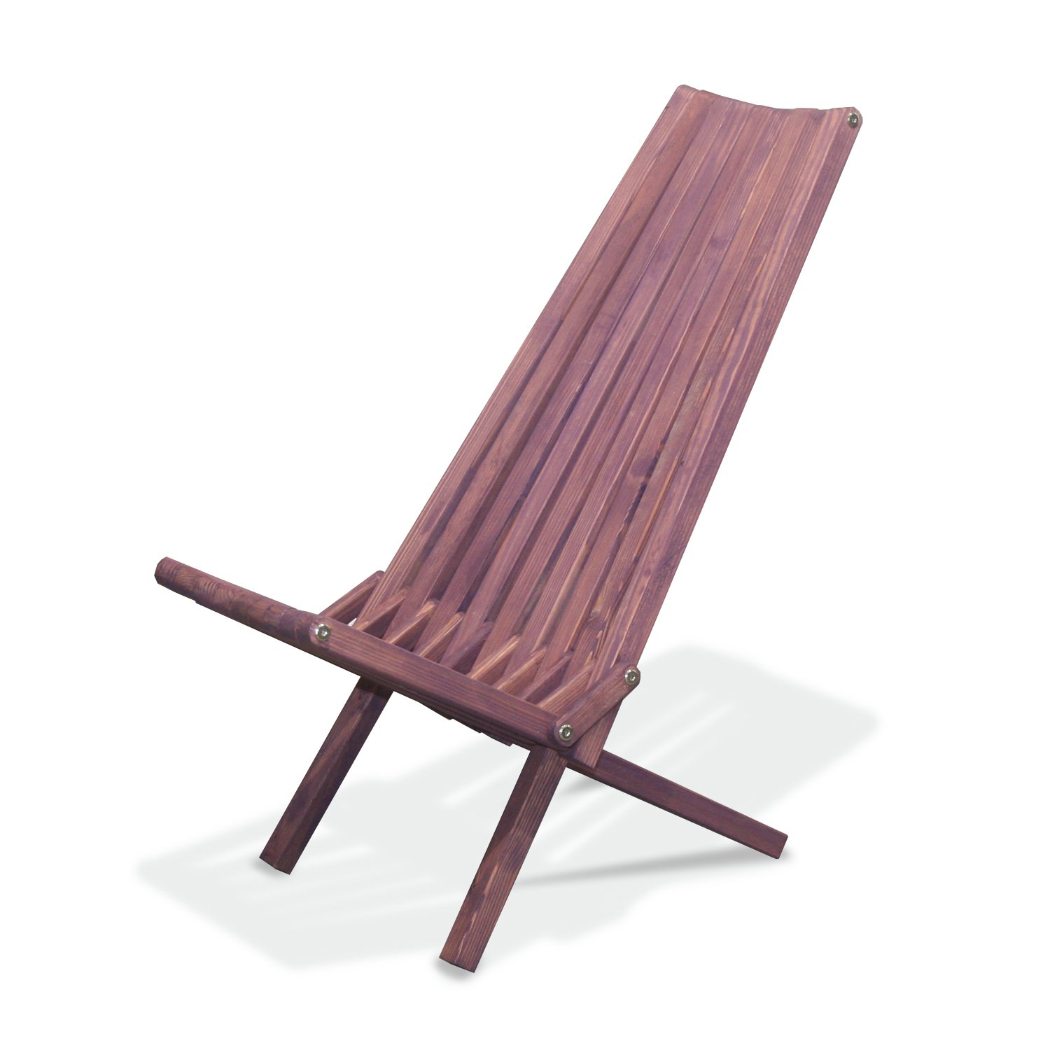 Amazon GloDea X45 Natural Lounge Chair Purple Berry Patio