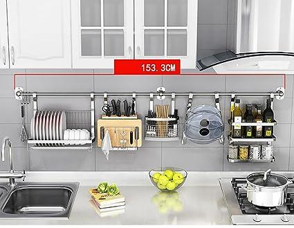 Porta Spezie Mensole in acciaio inox Mensola di cucina in ...