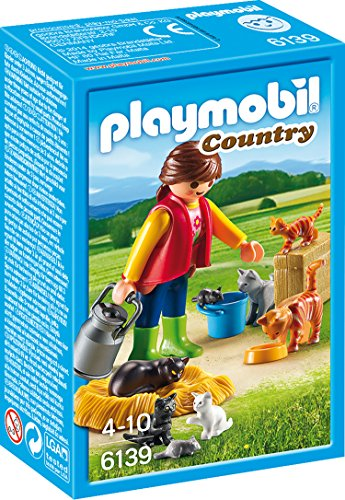 PLAYMOBIL® 6139 Country Woman with Cat Family