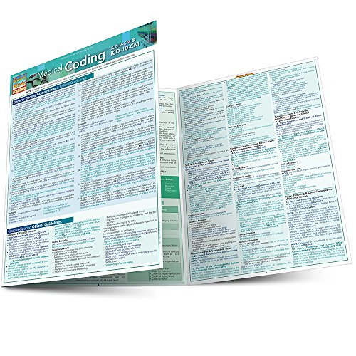 Medical Coding: ICD-9 & ICD-10-CM: Quick Study Guide (Quick Study Academic) by Shelley C Safian
