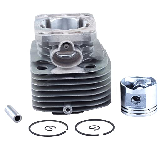 HIPA pistón-cilindro 40 mm para desbrozadora STIHL FS400: Amazon ...