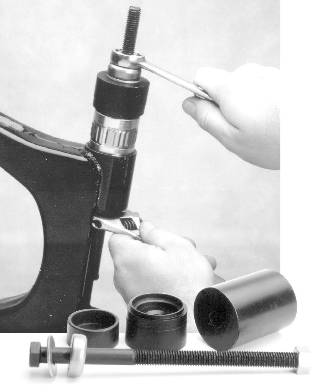Jims Swingarm Bushing Assembly Tool 1743