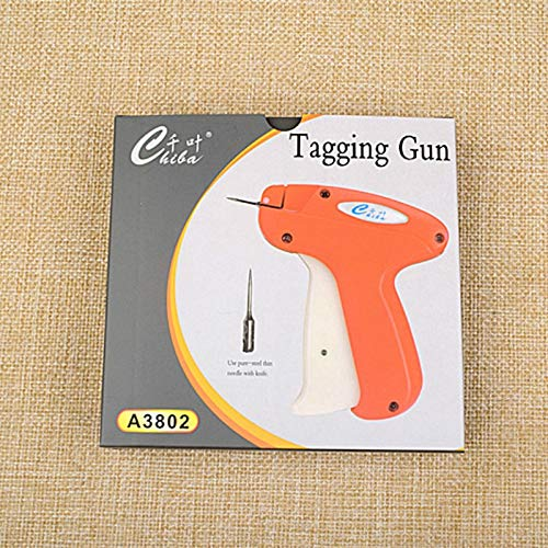 Tag Guns - A3802 Label Gun Clothing Trademark Clothes Tag Plastic Needle Socks - Stickers Blue Heavy Supplies Prime Clothing Comfort Attacher Small Price Lightweight Delicate Arrow Pins Lock Min