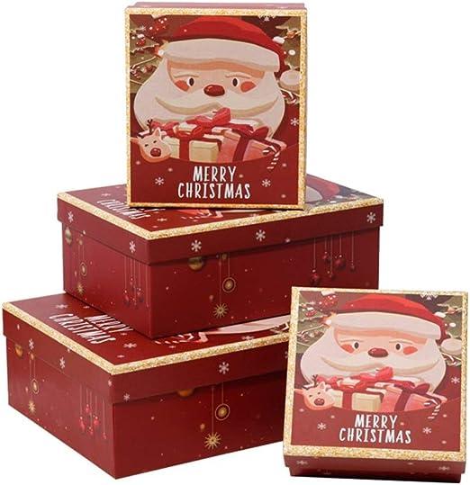 Nobrannd Caja Fiesta De Navidad R Regalos Red Box jerarquización ...