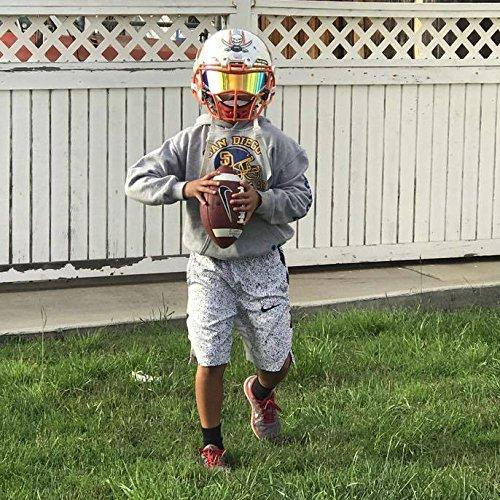 e2a63c9a EliteTek Color Football & Lacrosse Eye-Shield Facemask Visor - Fits Youth &  Adult Helmets