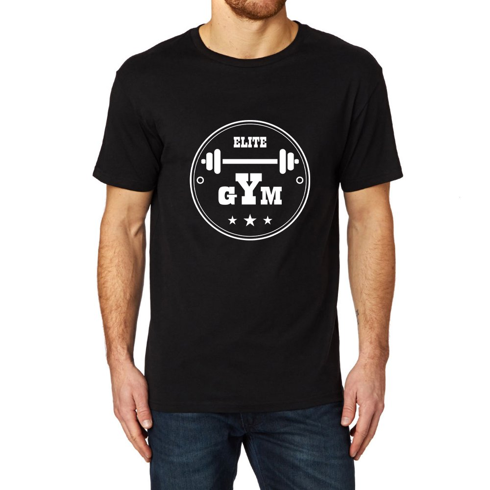 Loo Show Elite Gym Graphic Ness Gym Workout T Shirt Tee