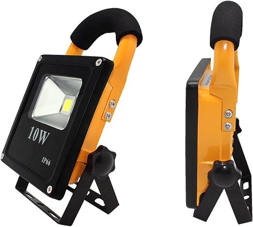 XYTMY LED Foco Proyector Portatil Lámpara Camping 10W Foco LED ...