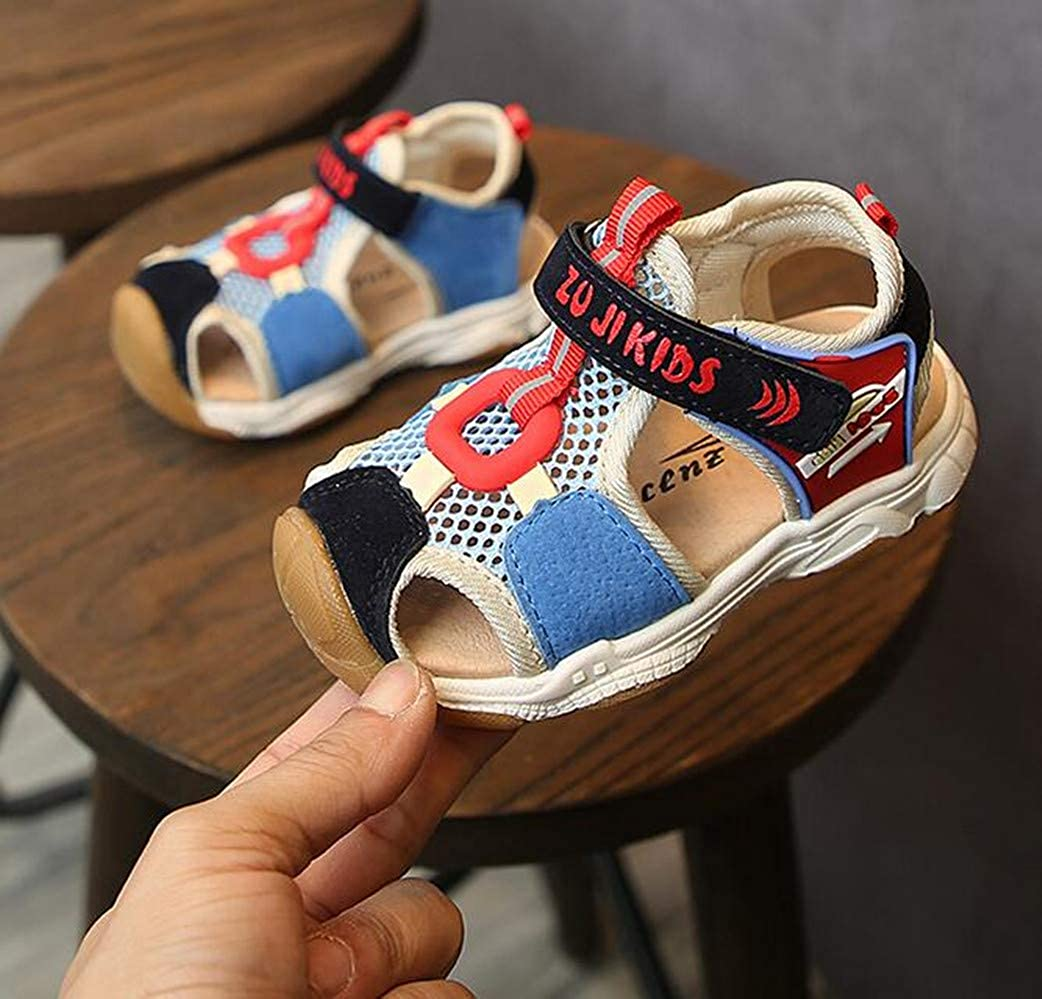 LFHT Boys Girls Outdoor Athletic Strap Breathable Closed-Toe Water Sandals Toddler//Little Kid