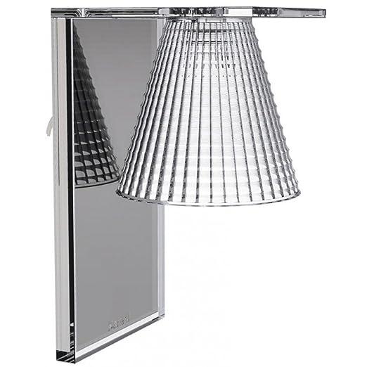 4 opinioni per Kartell Light Air Lampada Applique, Cristallo