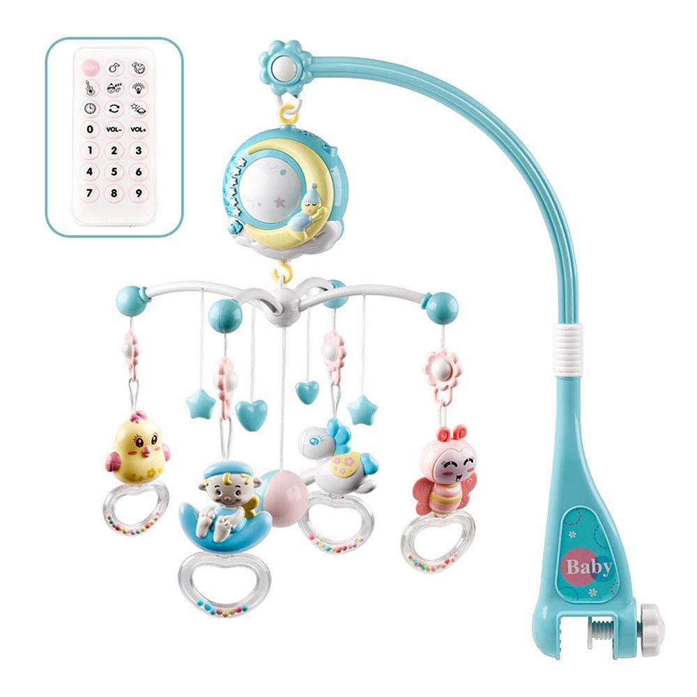 Mobile Baby with Spieluhr Mobiles Baby Bett Glocke Spielzeug H/ängende Rasseln Projektion Spielzeug Geschenk f/ür Neugeborene Kleinkind