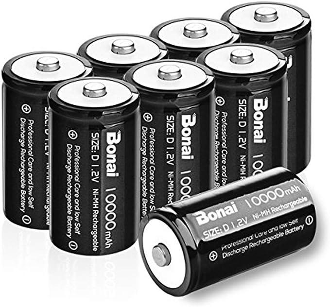 Amazon.com: BONAI LCD Universal C cargador de batería y ...