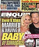 National Enquirer Magazine March 18 2019 Gwen Stefani Blake Shelton Prince Harry Freddie Mercury