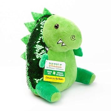 Amazon Com Creativity For Kids Mini Sequin Pets Dazzle The Dino