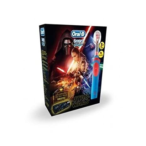B.Braun - braun oral-b stages power kids star wars + estuche star