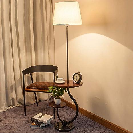 SMQ Bandeja de almacenamiento lámpara de pie-sala de estar ...