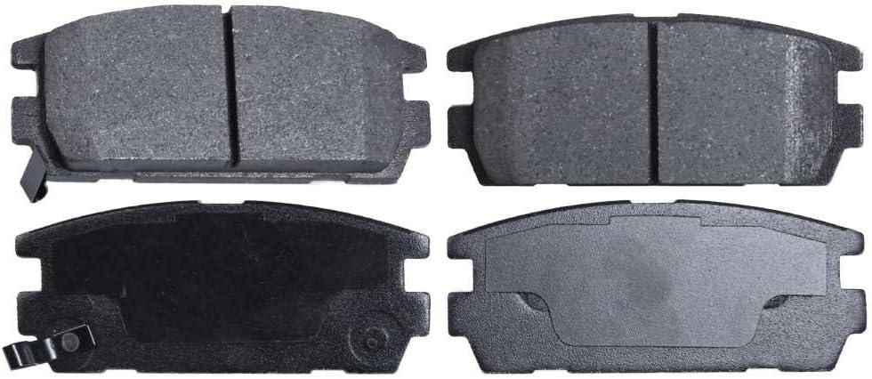 Auto Shack SMK1275 Rear Semi-Metallic Brake Pad Set
