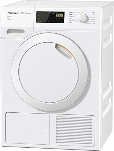 688db3cb99940f Miele TDB230WP Active Asciugatrice a pompa di calore, Tumble Dryers (Libera  installazione, Carico frontale, 7kg, A++), Bianco: Amazon.it: Grandi ...