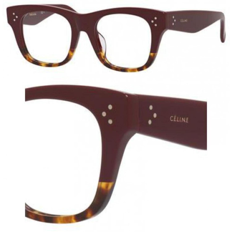 Celine 41367/F Eyeglasses Color 0AEV 00 at Amazon Men\'s Clothing store: