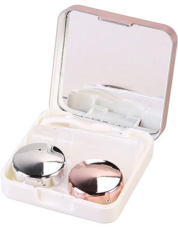 Ètui lentilles de contact ROSENICE Voyage Boite à Lentilles de Contact avec  Mirroir Pincette Stick et b9b364d20e3a