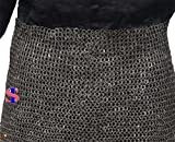 Chain Mail Skirt 10 mm Flat Riveted with Washer Medieval Armour SCA VIKING