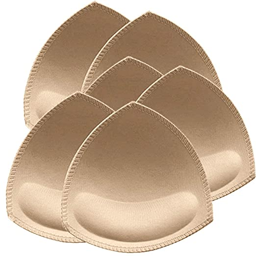 2f06468fb7 Image Unavailable. Image not available for. Color  Bra Pads Inserts 3 Pair  ...