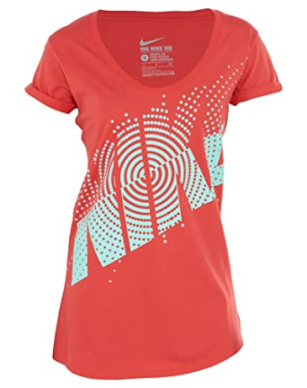 Red Femme Shirt Rouge Small Nike T 0nRI4