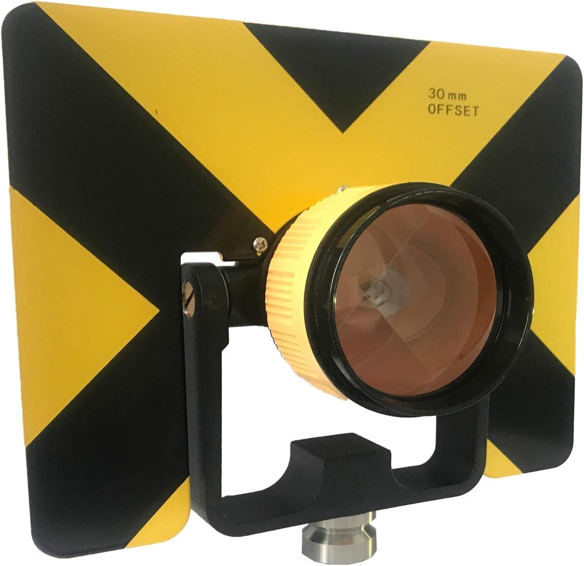 All-Metal Single Tilt Prism With Soft Bag for Land Surveying Prism for Leica Total Stations Surveying Prism