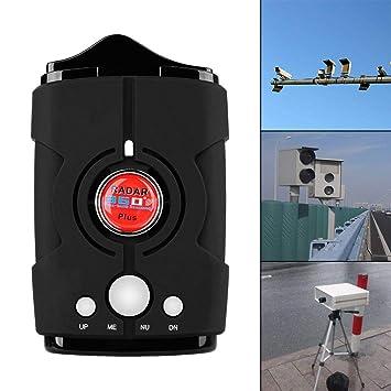 Amazon.com: Radar detector V8, voice prompt speed, city/highway mode radar detector for cars (FCC certification) (black): Beauty