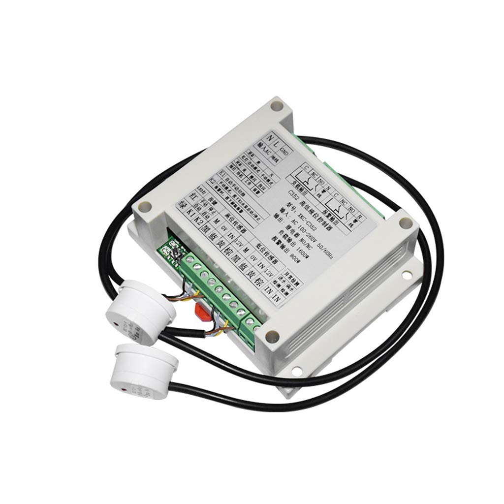 Taidacent Non Contact Liquid Level Sensor Externally Attached Water Level Controller Fuel Level Sensor Float Switch