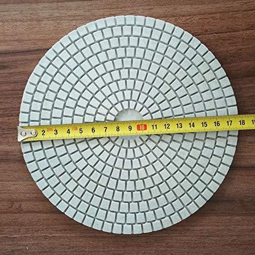 7 Inch 180mm DIAMOND POLISHING 9 PAD Granite Concrete Marble Stone Glass Quartz