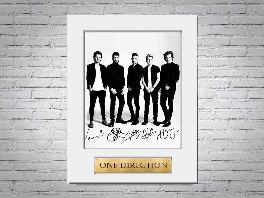 LJW One Direction A4 Photo Autographe Sign/é Photo Photo Photo Photo Photo Photo Photo Format A4