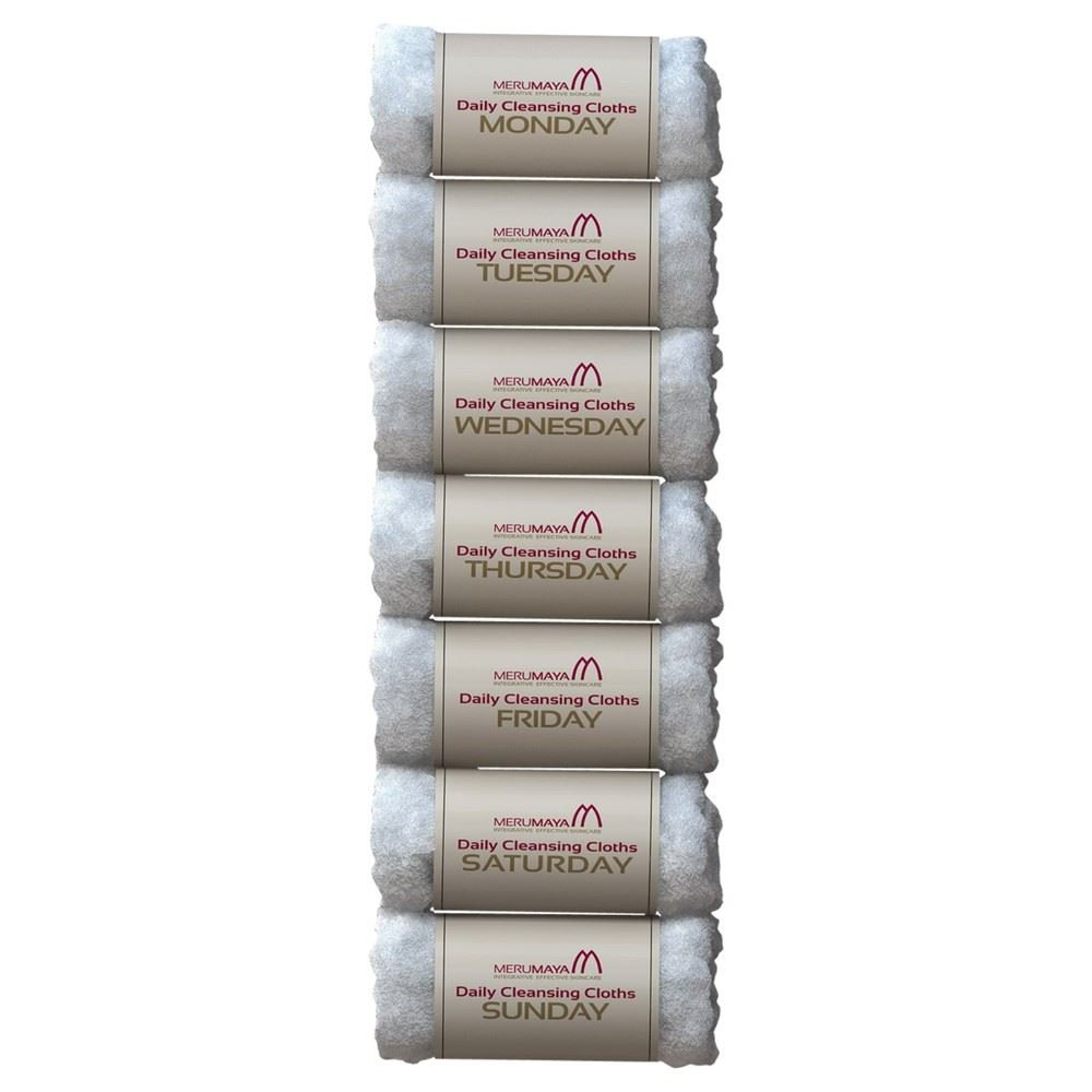 MERUMAYA Daily Cleansing Cloths - Pack of 6