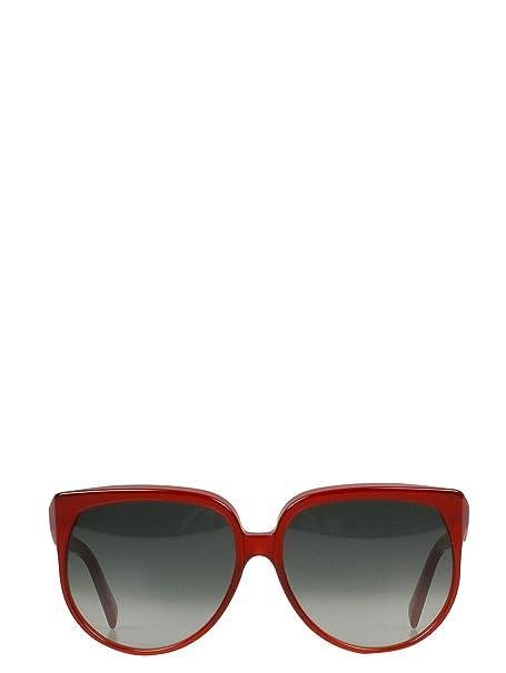 Céline Mujer 40048Cplb28bp Rojo Acetato Gafas De Sol: Amazon ...