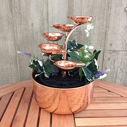 Copper Five-leaf Tabletop -