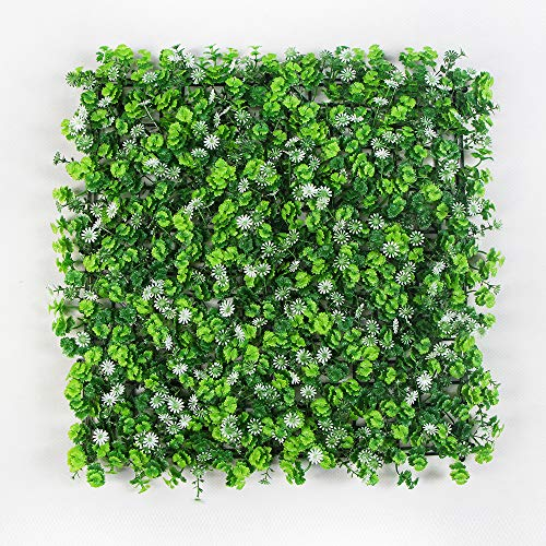 KathShop Outdoor Artificial Boxwood Hedge Garden Plants 10x1