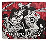 Great Eastern Entertainment Future Diary Holders Wallet, Red